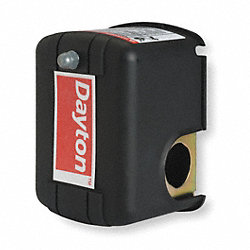 Pressure Switch, 20-40PSI, 1Port, DPST, 10A