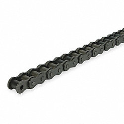 Roller Chain, Single, Size 35, Pitch 3/8 In
