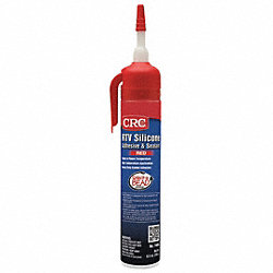RTV Silicone Sealant, Red, 7.25 Oz