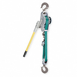 Web Strap Hoist, 9 ft., 1500/3000 lb.