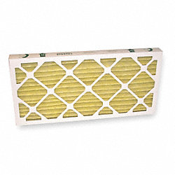 Pleated Filter, 24 In. W, 12 In. H, PK 6