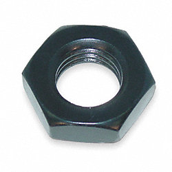 Hex Jam Nut, Alloy, B/O, 5/16-18