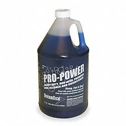 Non-Acid Coil Cleaner, 1 G, Blue Color