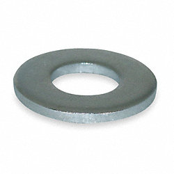 Flat Washer, SAE, Fits #10, Pk 100