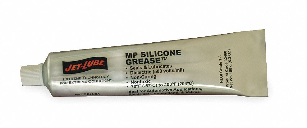 Jet-Lube Food Grade Mp Silicone Grease(Tm), 5.3 Oz 32460 at Sears.com