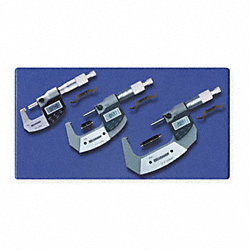 Electronic Micrometer Set, 3 Pc, 1-3 In