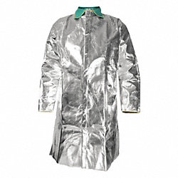 Aluminized Jacket, 2XL, Carbon Kevlar(R)