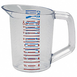 Polycarbonate Measuring Cup, 1 Pint