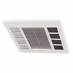 Convection Ceiling Heater, 240V, 17, 100Btu