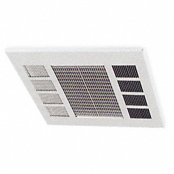 Convection Ceiling Heater, 277V, 17, 100Btu