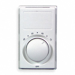 Thermostat, Wall, 277V, 60 Hz