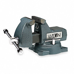 Vise, Mechanics, 5 In, 5 1/4 In Open