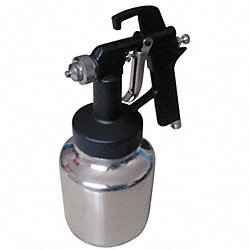 Siphon/Pressure Spray Gun, 0.050In/1.3mm