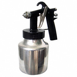 Siphon/Pressure Spray Gun, 0.058In/1.5mm