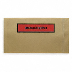 Packing List Envelope, 10 In, PK 1000