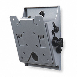 Flat Panel Tilt Mount, Wall, Steel, Silver