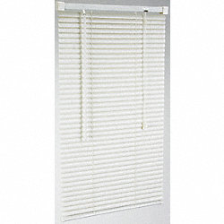 Mini Blinds, L 60 In, W 43 In, White