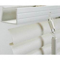 Mini Blinds, L 60 In, W 39 In, White