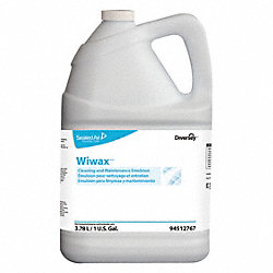 Floor Cleaner, 1 gal., Floral, White