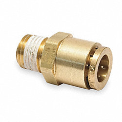 Female Connector, 1/2-14, 5/8 In Tube Sz