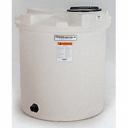 Storage Tank, Vertical Closed Top, 330 Gal