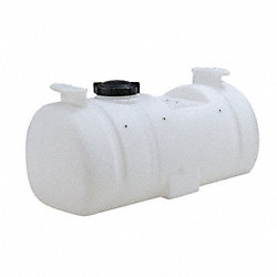 Storage Tank, Horizontal, Closed Top, 15Gal