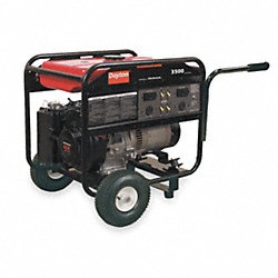 Portable Generator, Rated Watts3500, 242cc