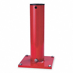 Mounting Base, Pedestal/Socket, Red