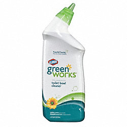 Toilet Bowl Cleaner, 24 oz., Green, PK 12