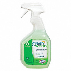 General Purpose Cleaners, Green, PK 12