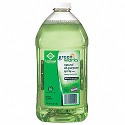 General Purpose Cleaners, Green, PK 6