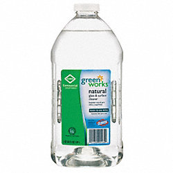 Glass Cleaner, 64 oz., Green, PK6