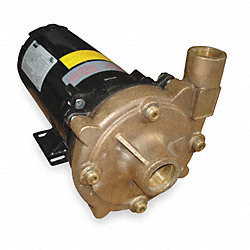 Centrifugal Pump, 1 HP, 3 Ph, 208-230/460V