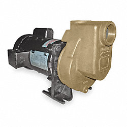 Centrifugal Pump, 1 HP, 1 Ph, 115/230V