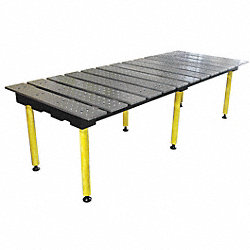 Welding Table, 78W, 38D, Cap 4400