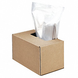 Paper Shredder Bag, 50 x 42-1/2 x 22 In