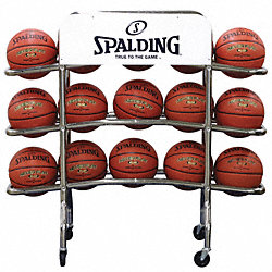 Backetball Rack, Chrome