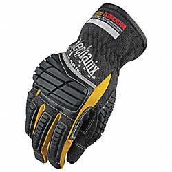 Extrication Gloves, Black, M, PR
