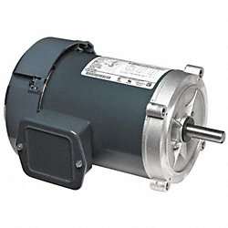 Motor, 3 Ph, 1 HP, 1755, 143TC, Eff 82.5