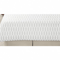 Duvet Cover, Wave White, Queen