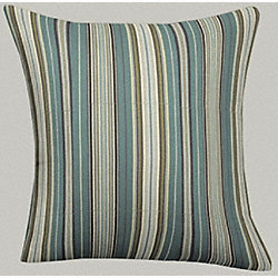 Throw Pillow, Standard, Mocha