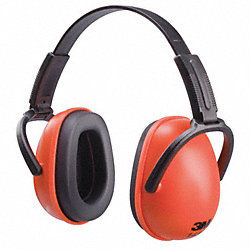 Ear Muffs, Folding, Dielectric, Org/Bl, 23dB