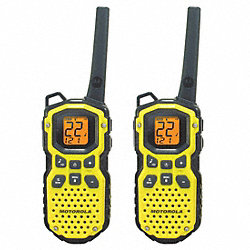 Two-Way Radio, 22 Channel, 35 Mile Range