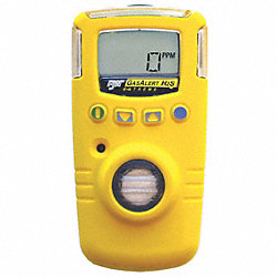 Single Gas Detector, HCN, 0-30 ppm, BR, Ylw