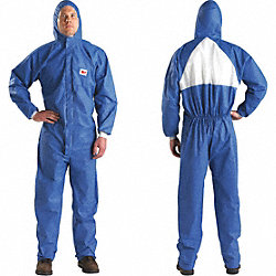 Hooded SMMS, Blue/White, Elastic, 2XL