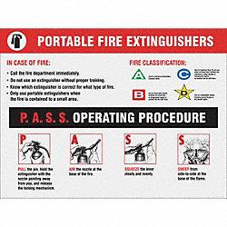 Fire extinguisher msds sheet