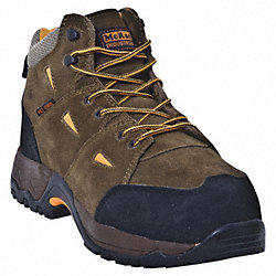 Hiking Boots, Comp. Toe, MetGrd, 12W, PR