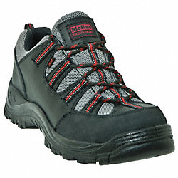 Hiking Shoes, Steel Toe, Blk, 11W, PR