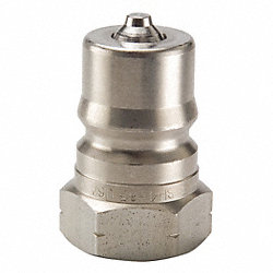 Hydraulic Coupler, Male, 1/4 In