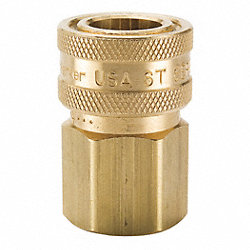 Hydraulic Coupler, 1/2 In